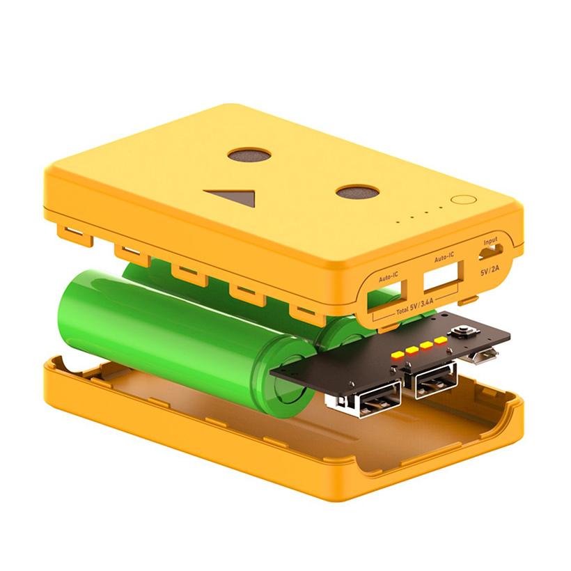 Pin sạc dự phòng Cheero Che-066 (10050mAh) (Vàng)