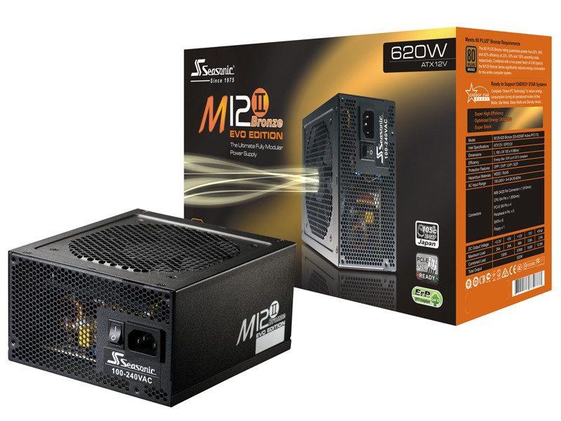 Power Seasonic 620W M12II-620 EVO