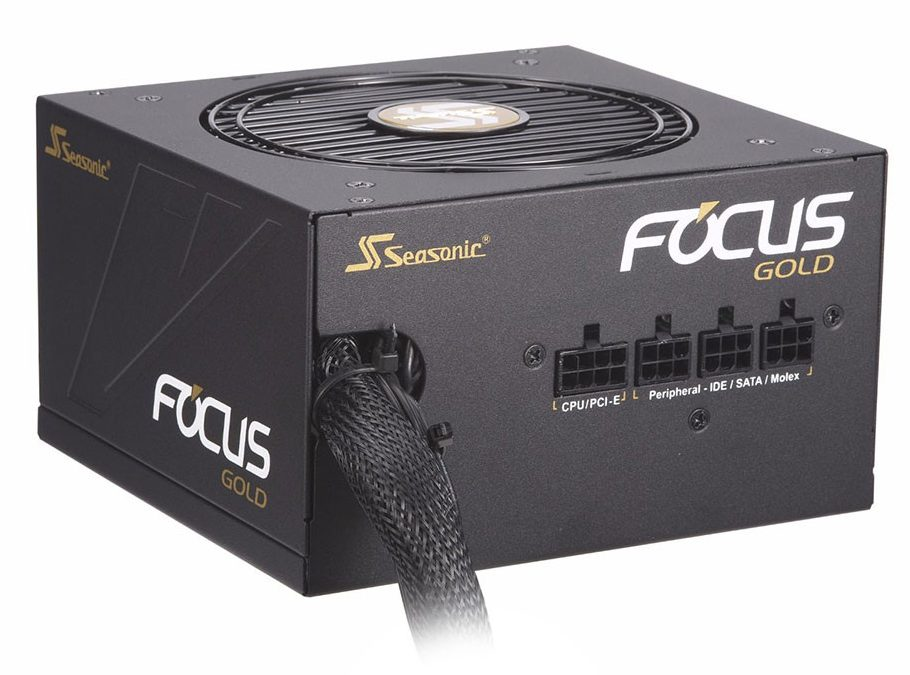 Power Seasonic 750W Focus FM-750 - 80 Plus Gold