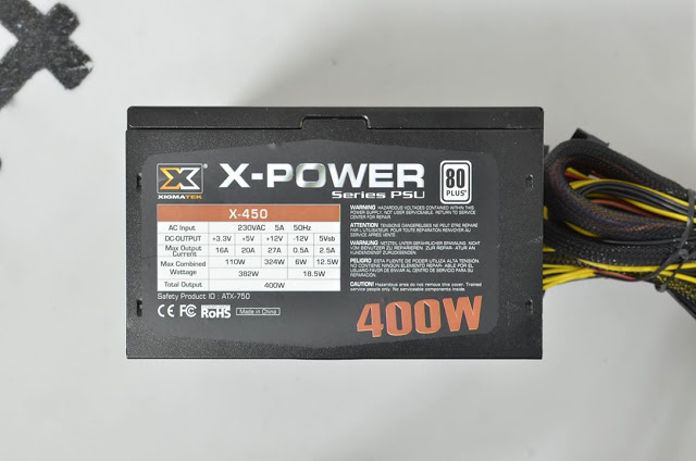 Power Xigmatek 400W X-Power X-450