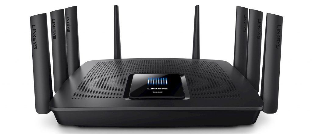 Router Linksys EA9500 - Phong Vũ