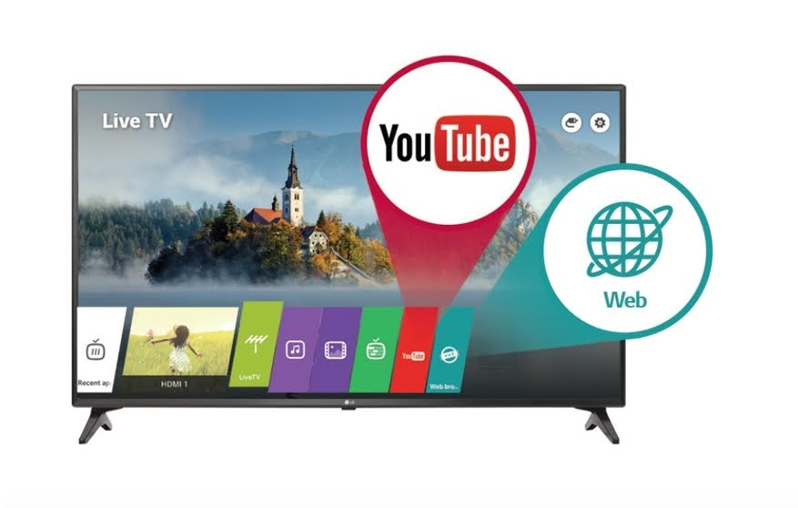 Internet Tivi LG 43 inch Full HD 43LV640S