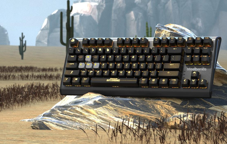 Steelseries Apex M750 TKL PUBG Edition Gaming mechanical keyboard - Phong Vũ