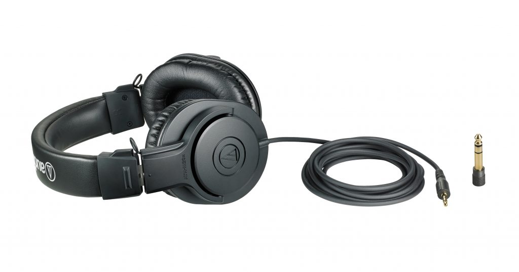 Tai nghe Audio-technica ATH-M20x (Đen)