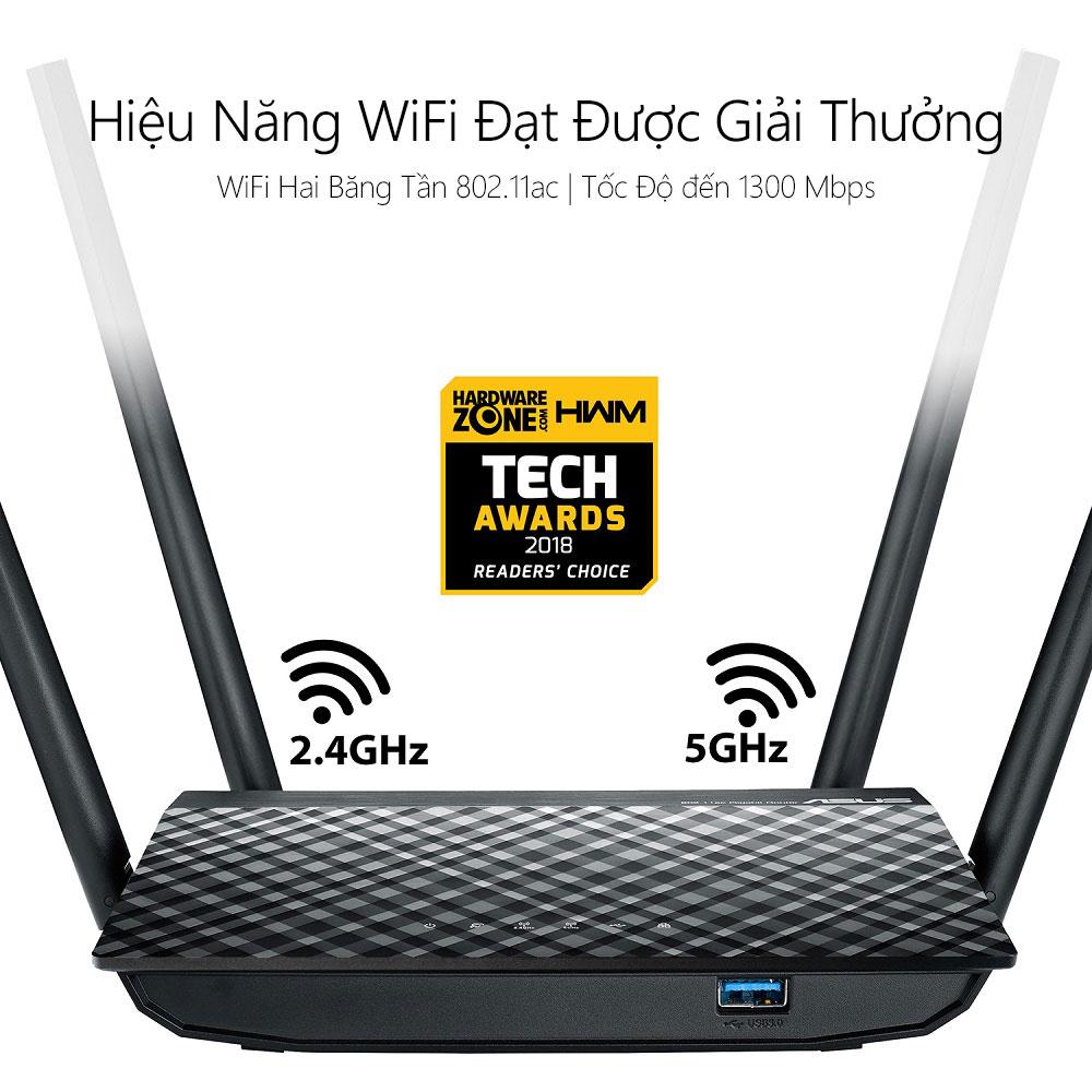 Thiết bị mạng Asus RT-AC1300UHP 3 - Phong Vũ