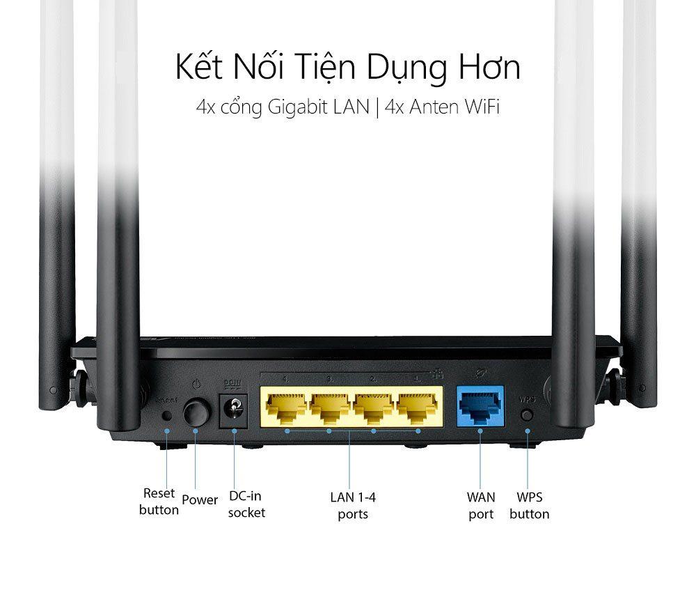 Thiết bị mạng Asus RT-AC1300UHP 4 - Phong Vũ