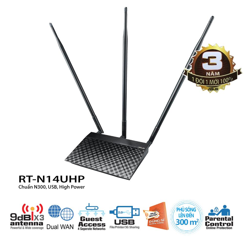 Thiết bị mạng Asus RT-N14UHP
