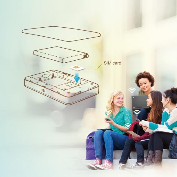 Thiết bị mạng TPLink 4G M7350