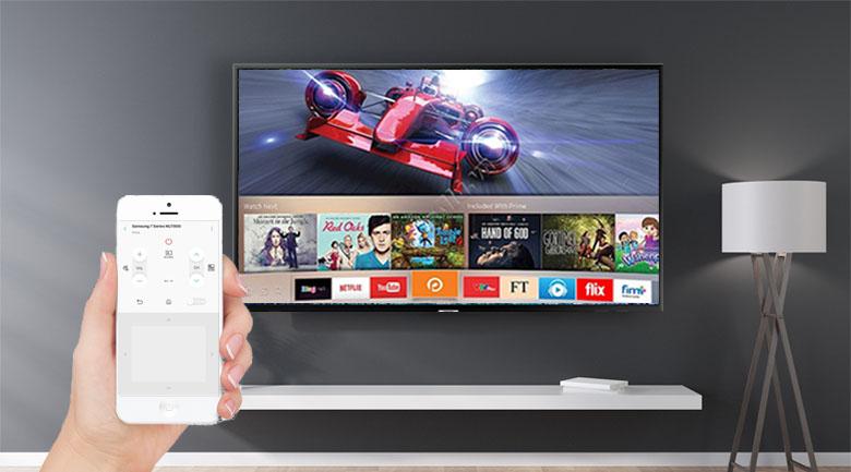 điều khiển tivi bằng điện thoại vô cùng tiện ích dễ dàng