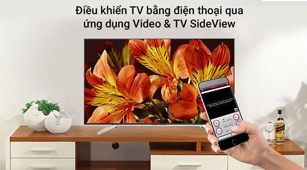 điều khiển tivi dễ dàng qua ứng dụng tv sideview
