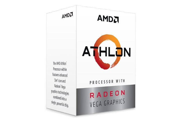 CPU AMD Athlon 240GE