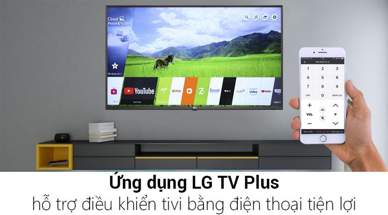 55B8PTA cho phép điều khiển tivi dễ dàng bằng điện thoại