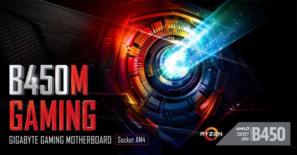 Bo mạch chủ Gigabyte B450M Gaming