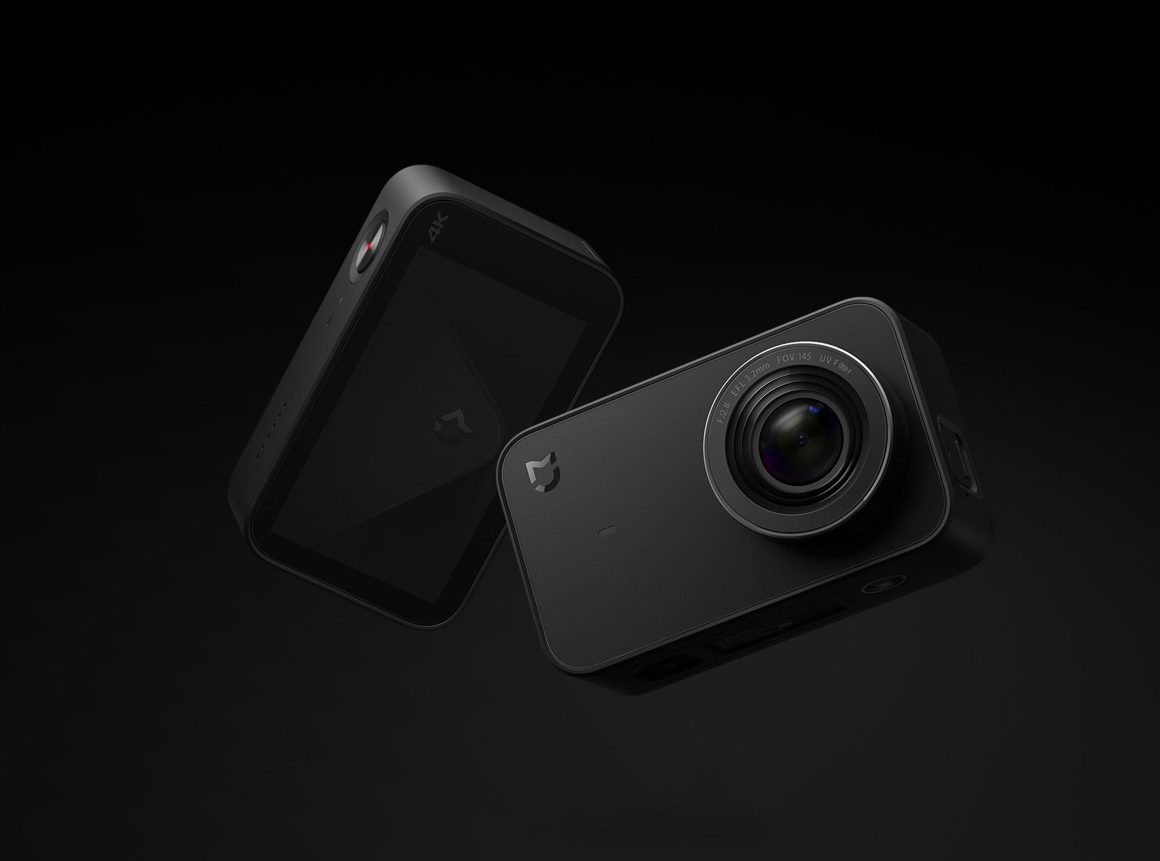 Camera Xiaomi Action 4K (ZRM4035GL) (Đen)