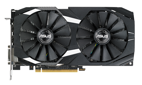 Card đồ hoạ Asus Dual 8GB Dual Radeon RX580 O8G