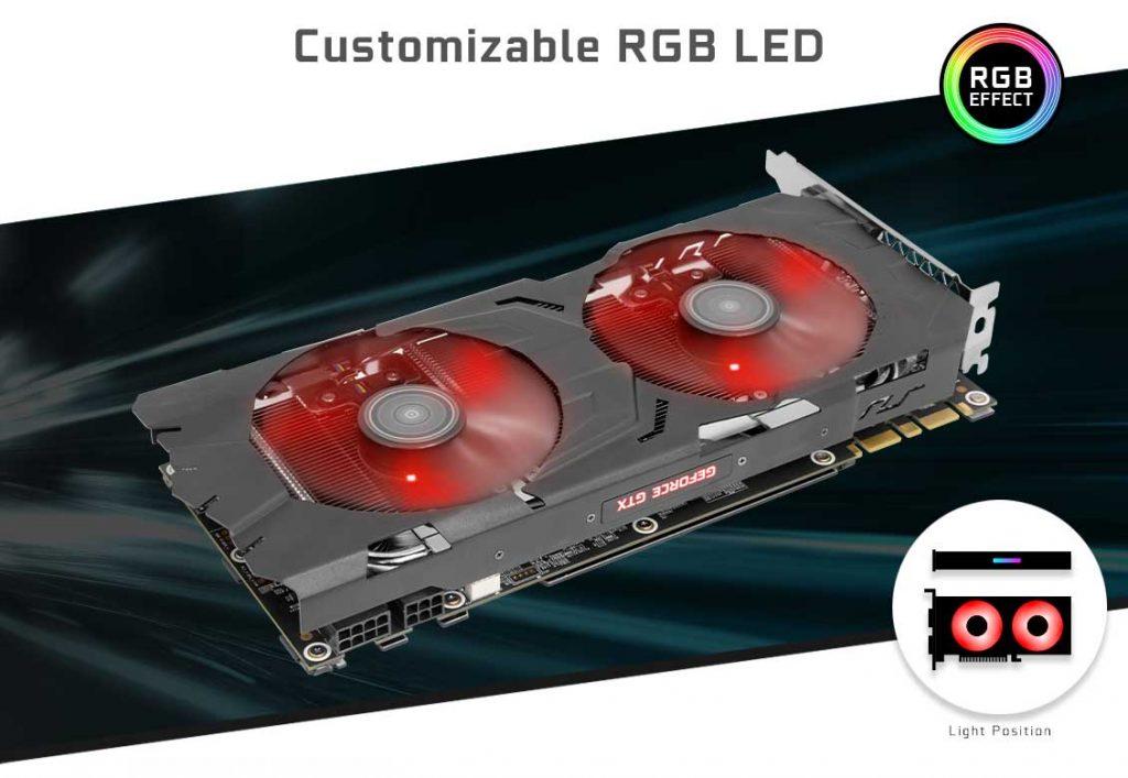 Card màn hình Galax 8GB GTX1070Ti EX