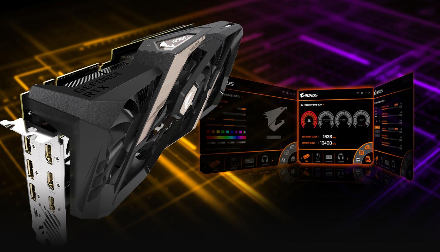 Card màn hình Gigabyte RTX 2080 AORUS 8G (GV-N2080AORUS-8GC)