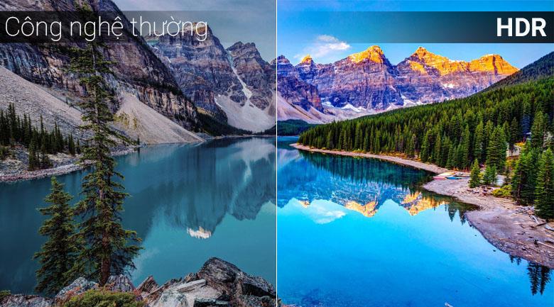 Công nghệ HDR tăng độ tương phản màu sắc