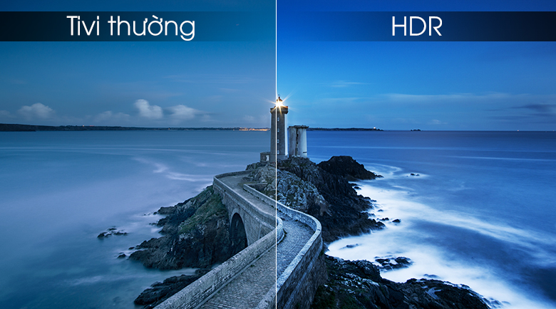 công nghệ hình ảnh HDR mang tới hình ảnh sắc nét độ tương phản cao