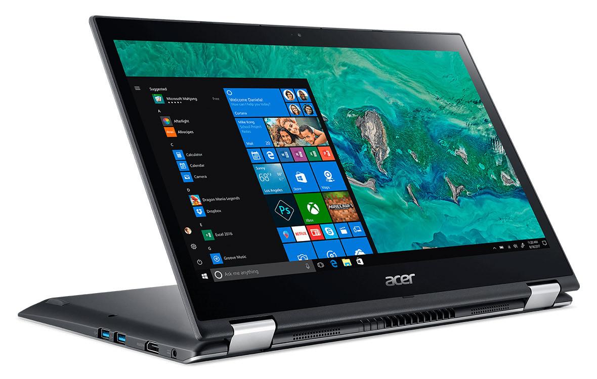 Laptop Acer Spin 3 SP314-51-51LE (NX.GZRSV.002) (Xám)