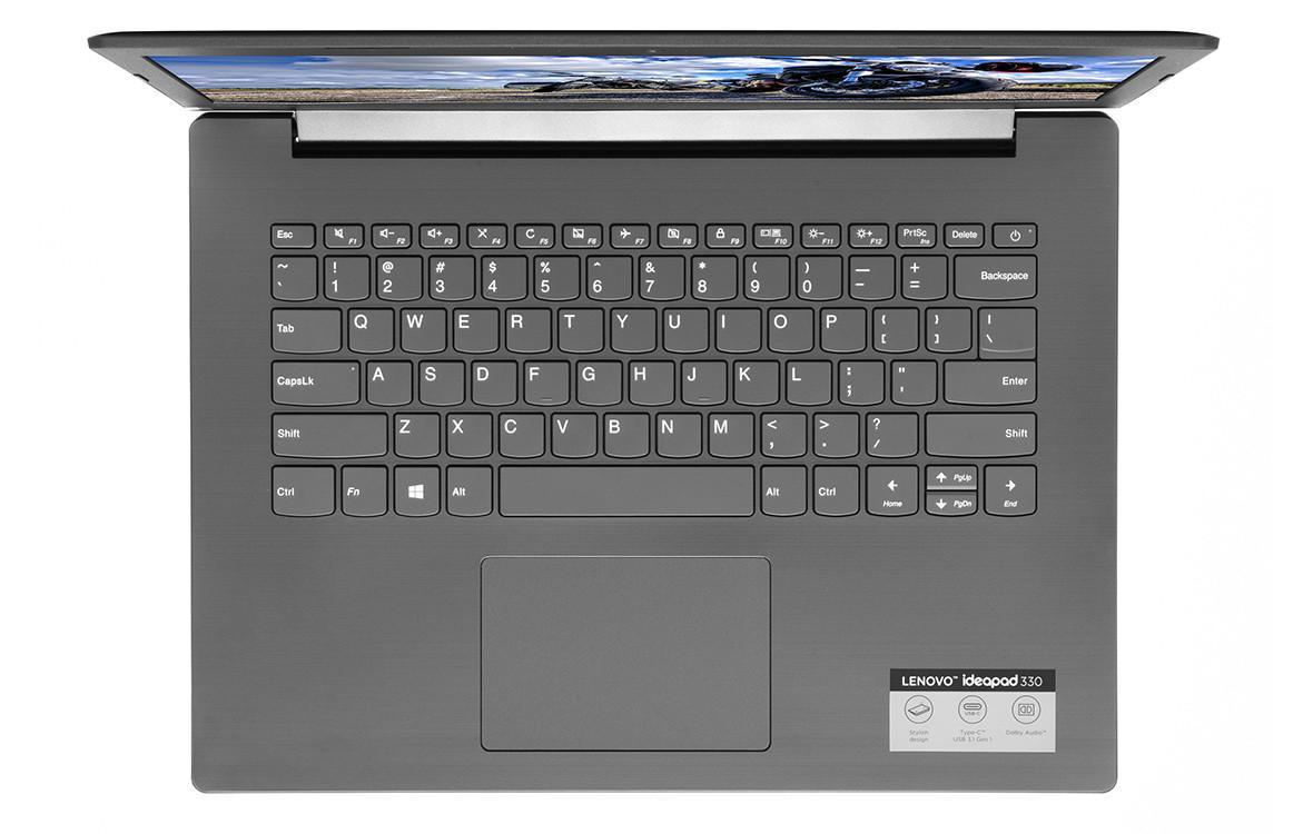 Laptop Lenovo Ideapad 330-14IKBR (81G2007AVN) (Đen)