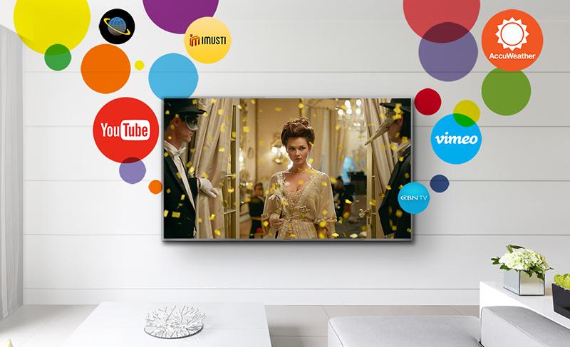 My Home Screen tivi panasonic dễ sử dụng, kho ứng dụng đa dạng