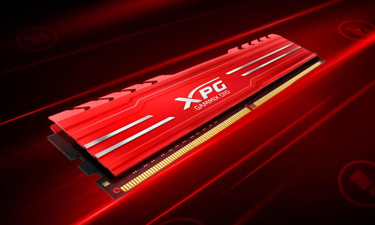 RAM Adata Gammix D10 8GB (2666) AX4U266638G16-SRG (Đỏ)