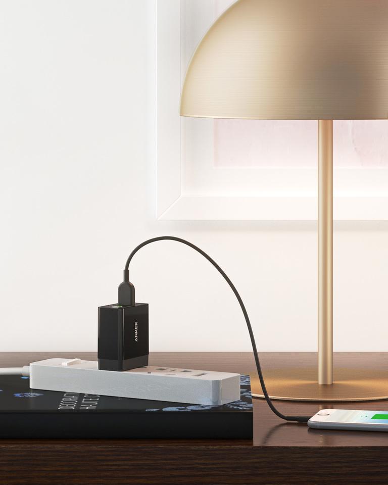 Sạc Anker Quick Charge 3.0 - PowerPort + 1 - A2013 (Đen)