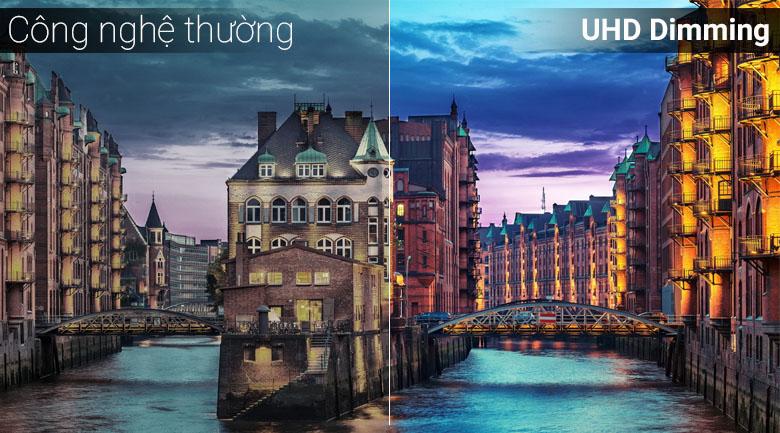 UHD Dimming tái tạo màu sắc mang màu sắc sống động