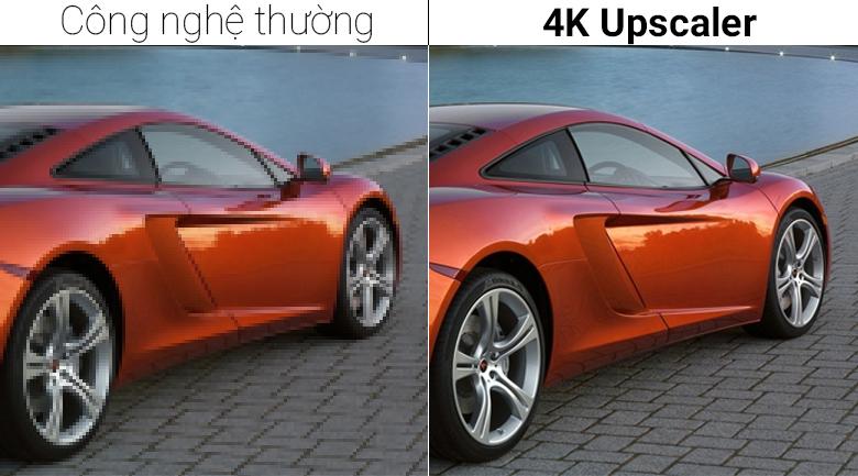 Upscaler giúp nâng cấp hình ảnh đem tới hình ảnh rõ nét hơn