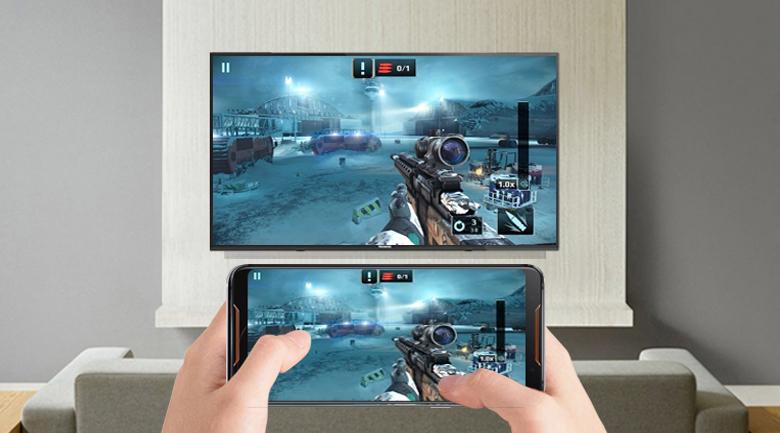 chiếu màn hình điện thoại lên tivi dễ dàng thuận tiện