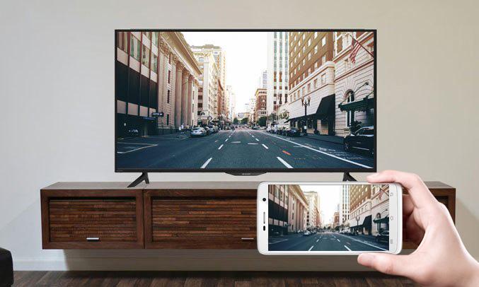 chiếu màn hình điện thoại lên tivi vô cùng dễ dàng, tiện lợi