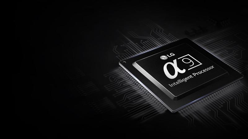 Chip xử lý độc quyền Alpha 9 cải thiện độ mượt mà cho hình ảnh