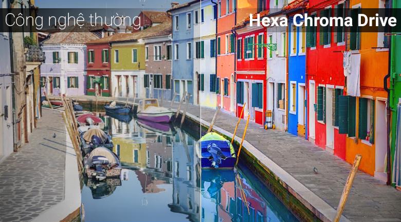công nghệ tái tạo màu sắc đem tới hình ảnh rực rỡ, chân thực