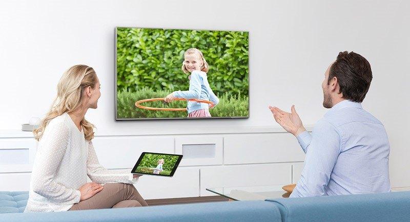 dễ dàng chiếu màn hình điện thoại lên tivi dễ dàng