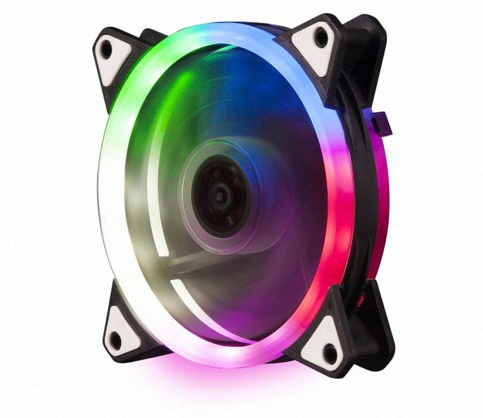 quạt case Erosi Rainbow