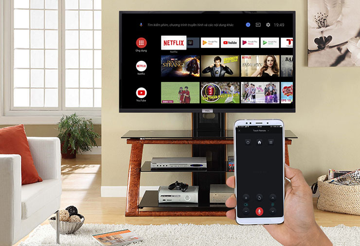 tivi L43S6500 điều khiển tivi dễ dàng