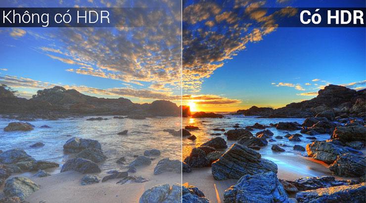 tivi 32S6500 công nghệ HDR ân tượng