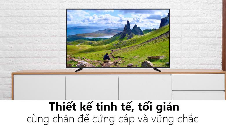 tivi ua50nu7090 thiết kế tinh tế phù hợp với mọi không gian
