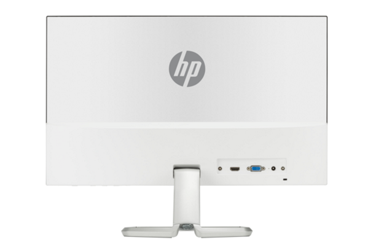 Thiết kế đẹp cổng kết nối phía sau màn hình HP 21.5