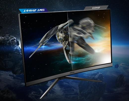 Hình ảnh sắc nét của màn hình cong MSI Optix 27″ MAG27C