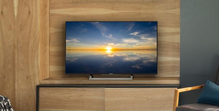 Tivi 4K Sony 43X8000E được thiết kế phù hợp với mọi không gian sử dụng