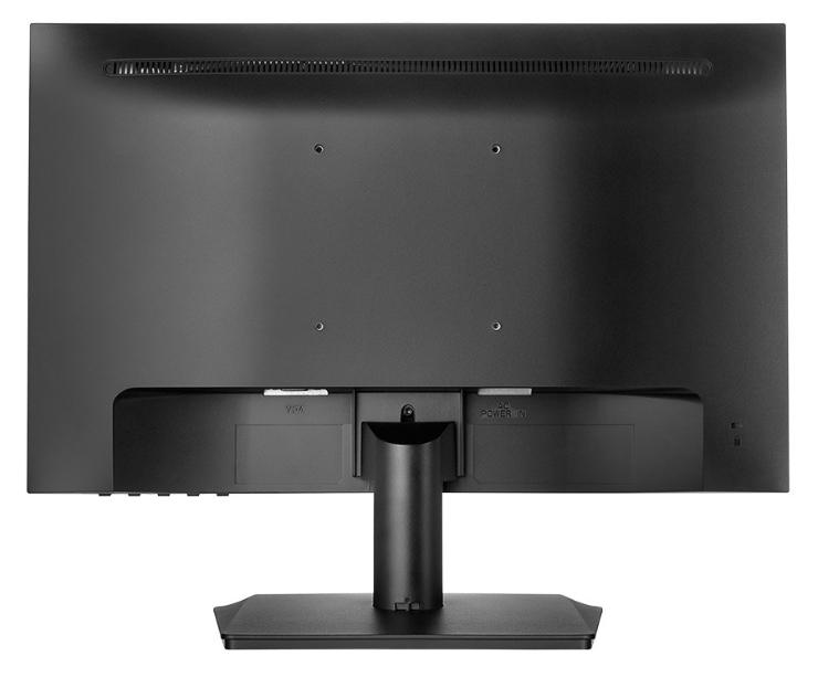 Thiết kế phía sau màn hình HP V190 18.5 Inch LED (2NK17AA)