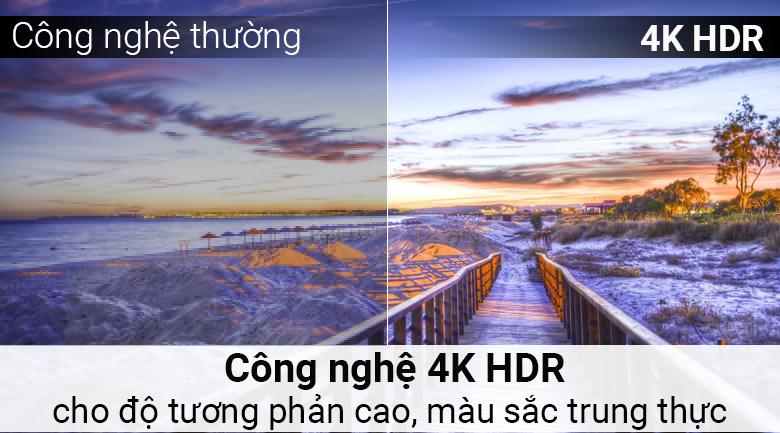 4k HDR đem tới hình ảnh độ tương phản cao