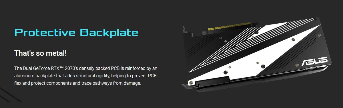 Card đồ họa ASUS GeForce RTX 2070 8GB GDDR6 DUAL