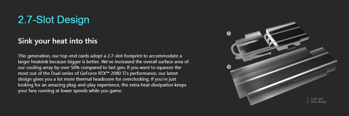 Card đồ họa ASUS GeForce RTX 2080Ti 11GB GDDR6 DUAL
