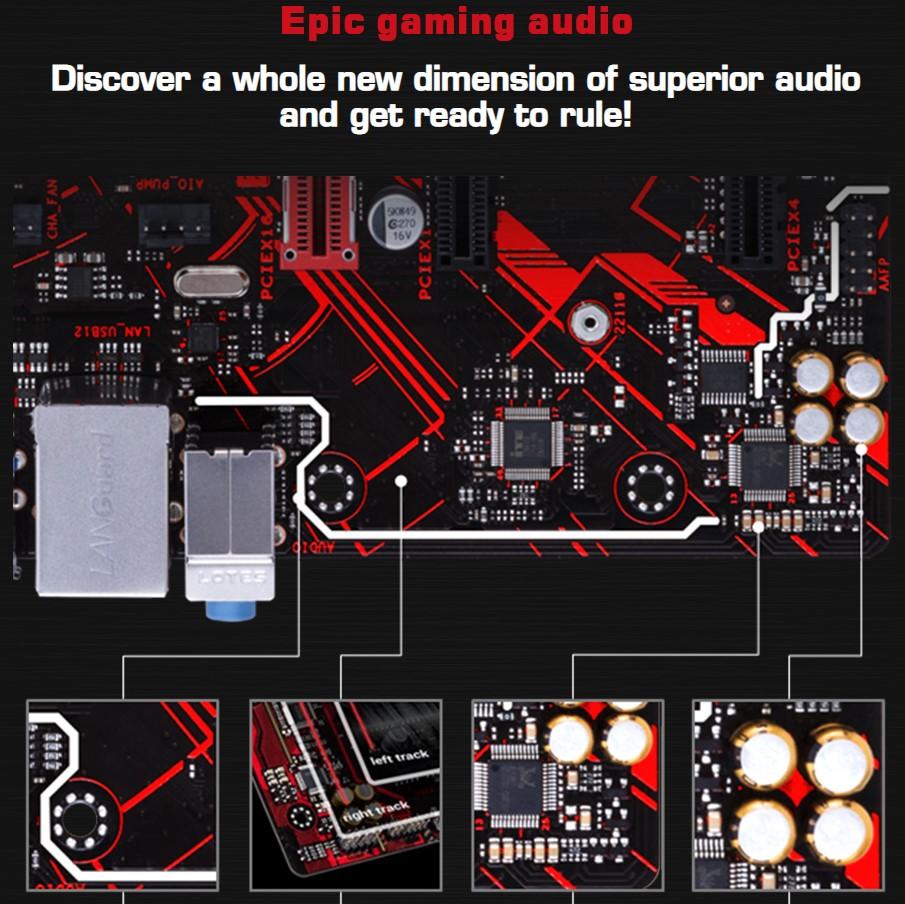 Bo mạch chủ Asus EX-A320M-Gaming