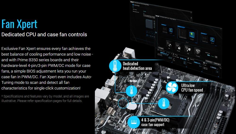 Bo mạch chủ Asus Prime B350M-K