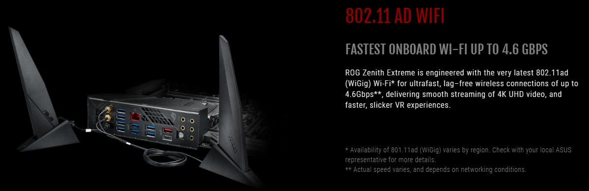 Bo mạch chủ Asus ROG Zenith Extreme