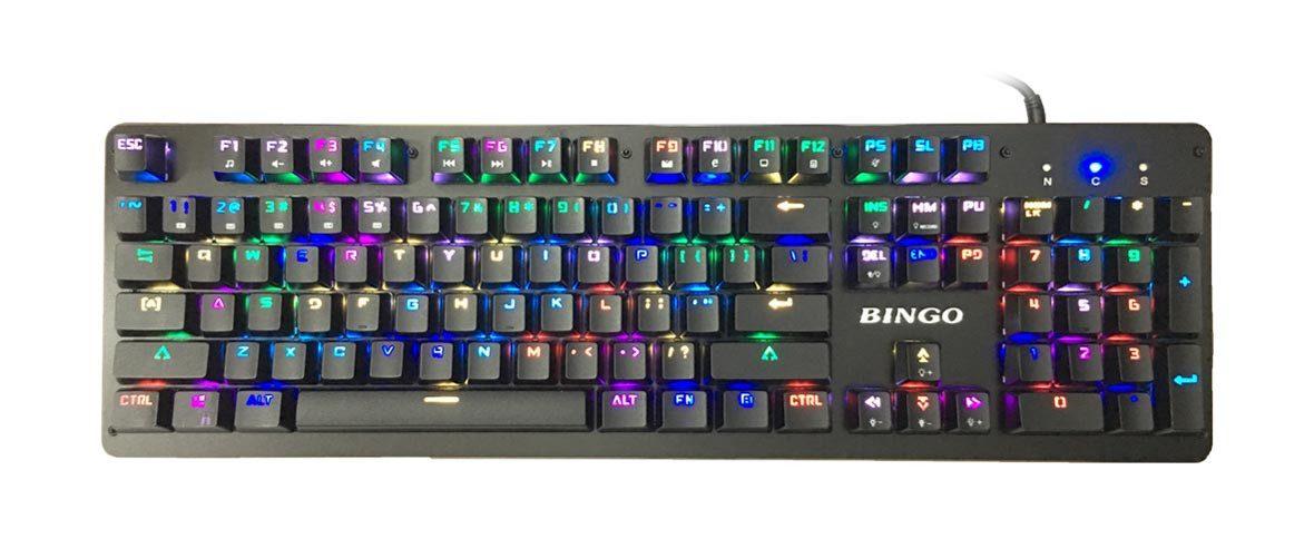 Bàn phím cơ Sumtax Bingo RGB (Đen)